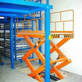 厂家定做安装固定电动升降机,液压起重升降平台,固定剪叉式升降