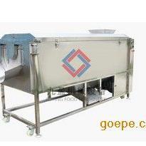 大型洗菜机,果蔬清洗机AG官方下载,螺旋出料土豆清洗机Y-3000