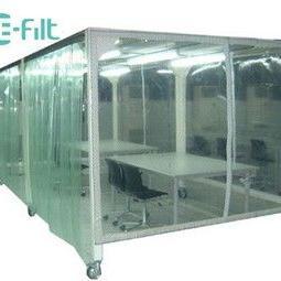 亚克力板结构型清洁棚