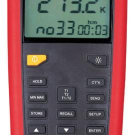 UNI-T优利德UT322接触式测温仪|温度表(双路)