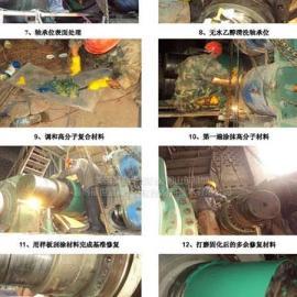 水泥行业辊压机轴磨损在线修复材料