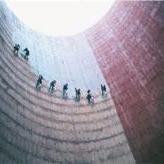 冷却塔护栏更换|冷却塔爬梯防腐更换