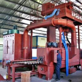 钢管抛丸机-钢管喷丸机-钢管打砂机-钢管除锈机