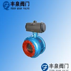 气动陶瓷圆顶阀