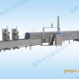 肉丸成型蒸煮冷却流水线-肉丸机专用流水线 食品专用设备