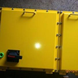 自己焊接的防爆铁箱,不锈钢箱质量有保障