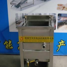 供应小型电加热油炸机 油水混合油炸机 炸油条油炸机