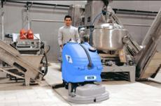 美国进口双刷洗地机 全自动洗地机吸干机Amber66/83