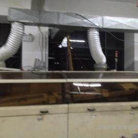 承接波峰焊热气排放处理降温新风管道安装报价