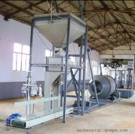 肥料自动包装机 颗粒称重包装机 有机肥自动包装机