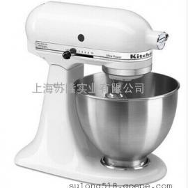 KitchenAid美国厨宝5K45SS 家用厨师机 打蛋机搅拌机和面机k45