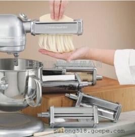 美国KitchenAid厨师机配件、压面机切片切 丝绞肉灌