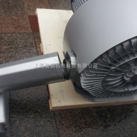 特做扦样机专用风机 5.5KW双叶轮吸料风机