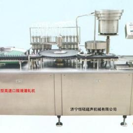 全自动陶瓷泵灌装加塞机,直线式灌装机详细资料
