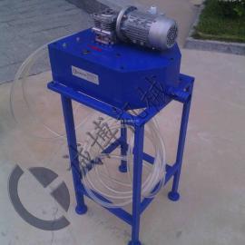 管式除油机除油 工作流程
