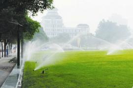 园林自动喷淋系统AG官方下载AG官方下载,草地智能喷淋系统