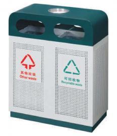 小区金属垃圾桶景区分类果壳箱