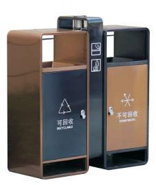 高档果皮箱户外不锈钢垃圾桶