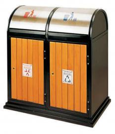 户外垃圾桶园林果皮箱景区分类垃圾桶