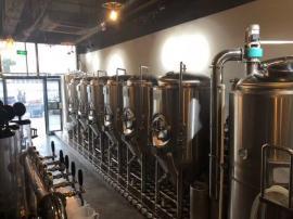 SMLW啤酒屋自酿鲜啤酒设备,德式鲜啤酒酿造设备