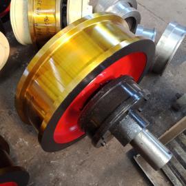 起重机行走用车轮组 Φ250主动车轮组