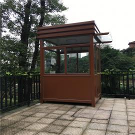 银东公园玻璃岗亭yd035