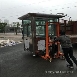 银东公园不锈钢岗亭价格yd035
