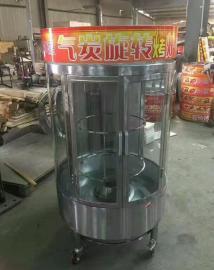 旋转烤鸭炉子|木炭烤鸭炉专卖