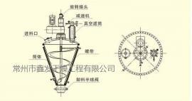 磷酸一铵单锥真空烘干机