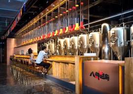 SMLW500升小型啤酒生产设备,自酿鲜啤酒设备