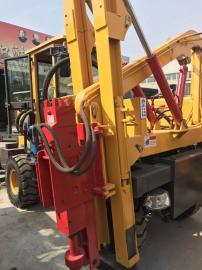 装载式护栏打桩机 大马力地基打桩机源头供货 质量可靠