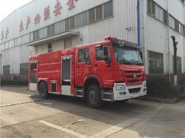 ��五重汽T5G水罐消防� 重汽6��水罐消防�
