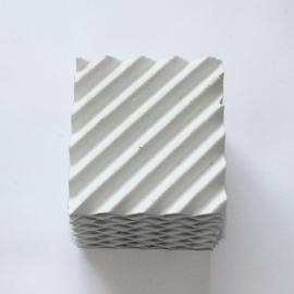 瓷质规整波纹板填料陶瓷规整板波纹填料搪瓷塔填料
