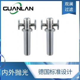 304不锈钢卫生级压缩空气微孔过滤器气体除菌净化过滤器