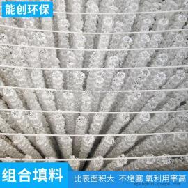 组合填料 多孔圆环填料 生化填料 污水处理填料