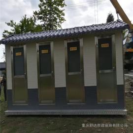 银东公园防腐木岗亭yd035