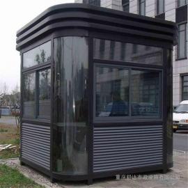 银东公园铝塑板岗亭制造厂yd035