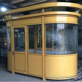 银东公园保安岗亭制造厂yd035