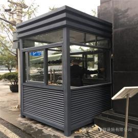 银东供应岗亭公园塑钢岗亭定制yd035