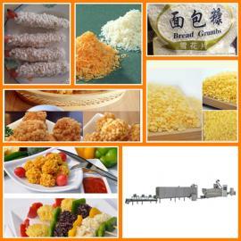 雪花面包糠食品生产线 面包糠膨化机械 面包糠生产加工设备