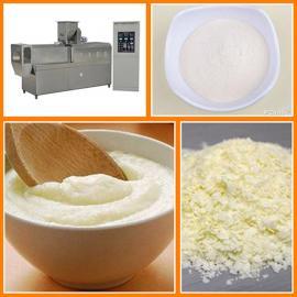 红豆薏米粉生产线 五谷杂粮粉膨化机设备 多功能速溶米粉膨化机
