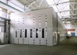 工业大型机械烤漆房 大型家具烤漆设备 五金喷漆连体房