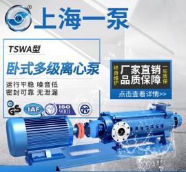 一泵TSWA型卧式多级离心泵单吸多级分段式离心水资源循环泵