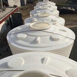 10��塑料水塔耐酸�A抗老化10000L塑料桶10��pe水箱