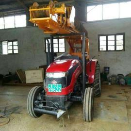 农用拖拉机式旋挖钻机 小型农用建筑钻桩机 地基钻桩机打桩机