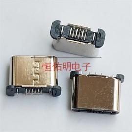 超短体Type-c公头无线充电插头 背夹 短体5.0mm