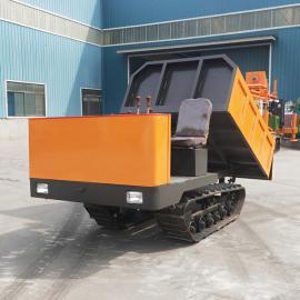 建筑工程运输水泥2吨履带运输车 坑洼泥路专用履带翻斗车 实惠款