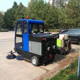 多功能电动吸尘扫地车 新能源道路环卫清扫车
