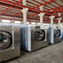 酒店宾馆洗衣脱水俩用机设备 100公斤全自动水洗设备
