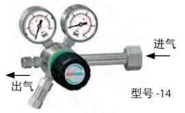 GCE钢瓶减压阀FMD500-14/-16/-18